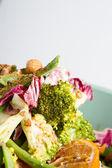 Broccoli and orange salad — Stock Photo