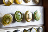 Vintage buttons — 图库照片