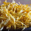 Dried marigold petals — Stock Photo
