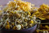 Dried chamomile — Stock Photo