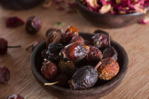 Dried rose hips — Stock Photo