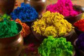 Indian pigments — Stock Photo