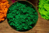 Indian pigments — Stock Photo
