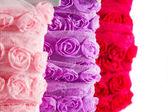 Rose ribbon — Stock Photo