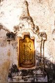 Buddha on a temple in Bagan, Myanmar — Stock Photo