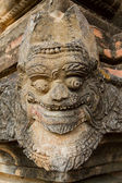 Detail of an ancient Buddhist temple in Bagan, Myanmar — Stock Photo