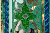 Glas und spiegel dekoration — Stockfoto