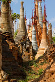 Ancient stupas at Inn Thein Paya — Stock Photo