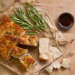 Fresh focaccia — Stock Photo #47012941