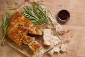 Fresh focaccia — Stock Photo