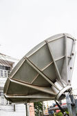 Modern radio telescope - satellite dish — Stock Photo