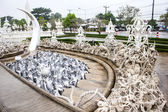 Statue of devils in hell at Wat Rong Khun temple , Thailand. — Stock Photo
