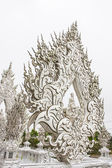 Details of Wat Rong Khun (The White Temple) in Chiang Rai, Thailand — Foto de Stock