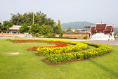 Royal Park Rajapruek in chiang mai,Thailand — Stock Photo