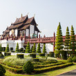Ho kham luang in international horticultural exposition 2011, Chiangmai Thailand — Stock Photo #35158689