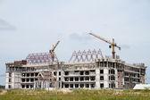 La grúa de construcción — Foto de Stock