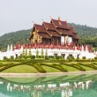 Stock Photo: Ho kham luang in international horticultural exposition 2011, Chiangmai Thailand