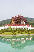 Ho kham luang in the international horticultural exposition 2011, Chiangmai Thailand — Stock Photo