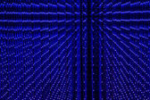 Close-up of the Matrix of a Screen made of multiple LEDs — Stock Photo