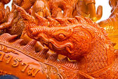 Candles are carved out of wax, Thai art form of wax, UbonRatchathani, Thailand — 图库照片