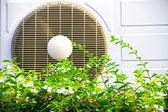 Compressor unit of air conditioner — Stock Photo