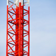 Mobile tower communication — Stock Photo