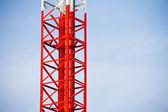 Mobile tower kommunikation — Stockfoto