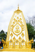 Giant hand to lift the base of the pagoda — Stockfoto