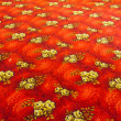 Red carpet texture — Stock Photo