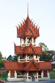 Belfry In temple of Thai. — Stock Photo