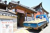 Traditional Korean House , South Korea — Φωτογραφία Αρχείου