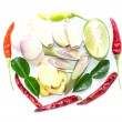 Tom Yum ingredients Thai food — Stock Photo #38819519
