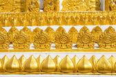 Thai art, Wat Phrathat Nong Bua in Ubon Ratchathani province, Thailand — Stock Photo