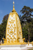Thai art, Wat Phrathat Nong Bua in Ubon Ratchathani province, Thailand — Stock Photo