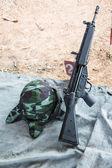 HK33 rifle — Stok fotoğraf