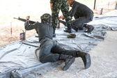 Military training — Stock Photo