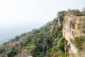 Layers of rock at Pha mo E dang — Foto Stock
