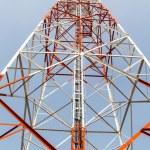 Telecommunication mast — Stock Photo #42425471