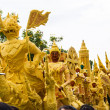 Candle festival Ubonratchathani — Stock Photo