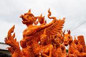 Candle festival Ubonratchathani, Thailand — Stock Photo