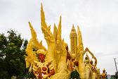 Candela ubonratchathani festival — Foto Stock