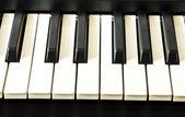 Tangentbord piano — Stockfoto