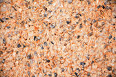 Exposed aggregate concrete texture background — Foto Stock