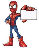 Spider Boy Super Hero — Stock Vector