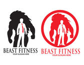 Beast Fitness — Stock Vector