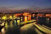 Venice the grand canal — Stock Photo