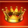 Golden crown — Stock Vector #18383855