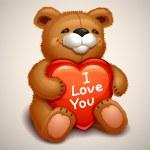 Teddy bear — Stock Vector #18467455