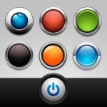 Button set — Stock Vector #18462801