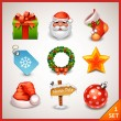 Christmas icon set — Stock Vector #18463117